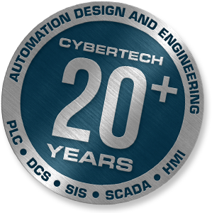 Cybertech has more than 20 years experience with PLC, DCS, SIS, SCADA and HMI